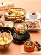 秋の幸御膳 [日本料理『たけはし』]