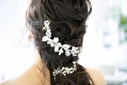 洋装髪飾り